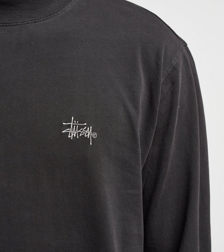 Stussy Mock Long Sleeve T-Shirt