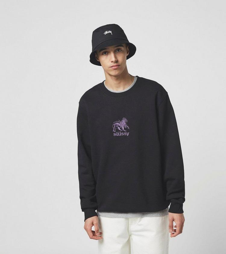 Stussy Lion Crew Sweatshirt