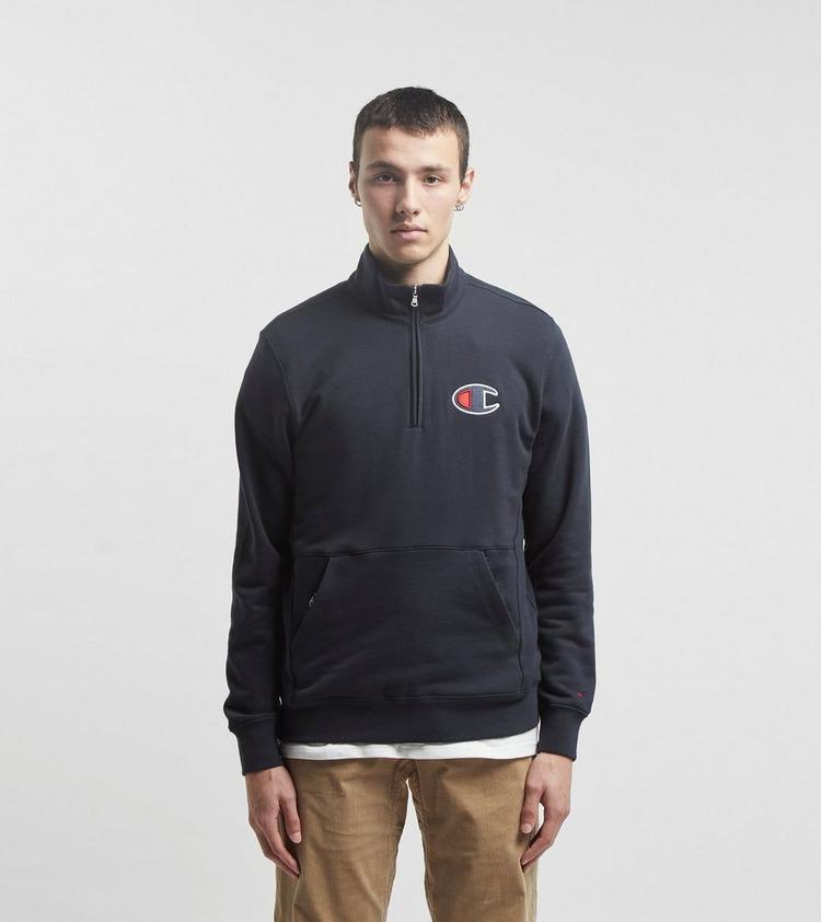 Champion Half Zip Swearshirt