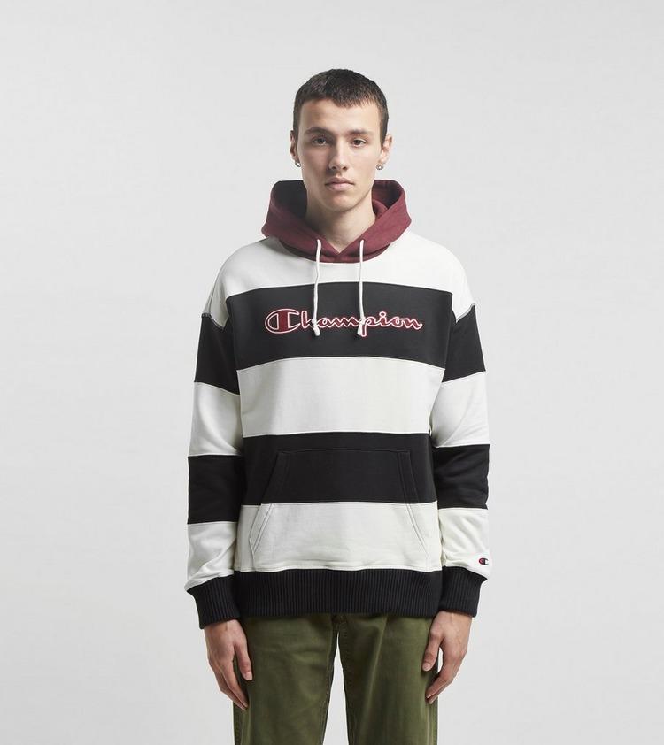 Champion Stripe Hoodie