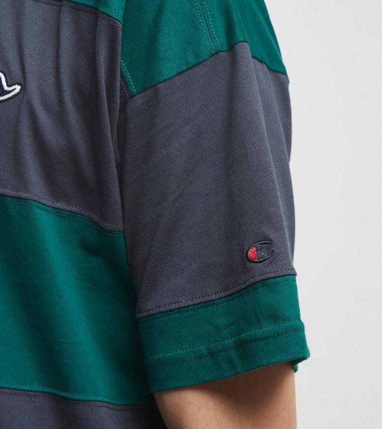 Champion Stripe Script T-Shirt