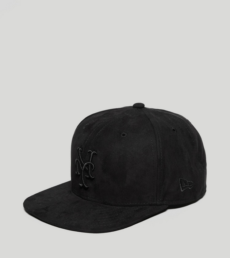 New Era Mets Faux Suede Snapback - size? exclusive
