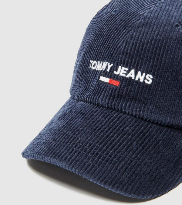 Tommy Jeans Corduroy Logo Cap