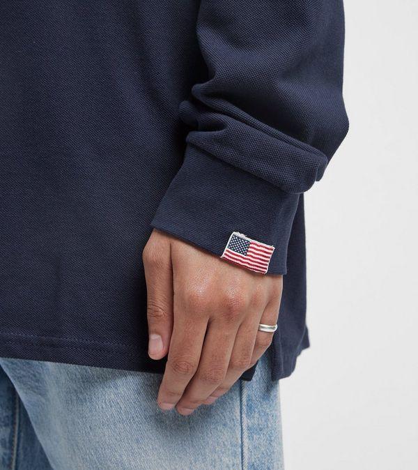 Guess Alwyn Long Sleeve Polo Shirt