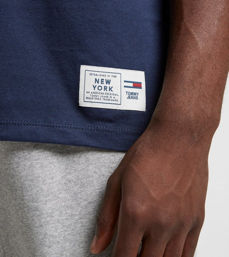 Tommy Jeans Novelty Corporate Logo Short Sleeve T-Shirt