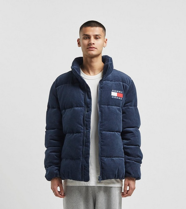 Tommy Jeans Corduroy Puffer Jacket