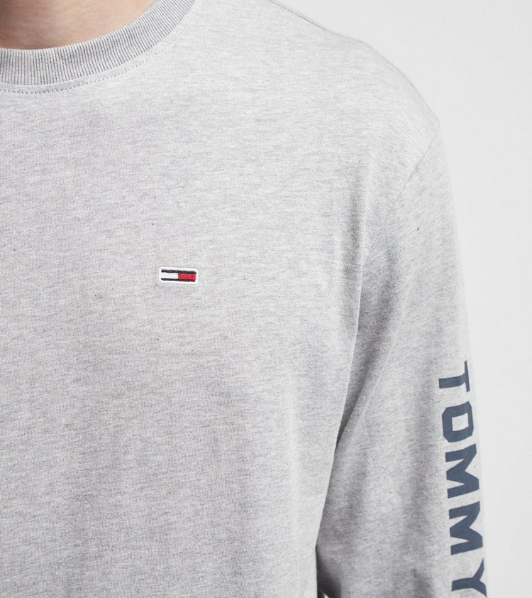 Tommy Jeans US Flag Long Sleeve T-Shirt