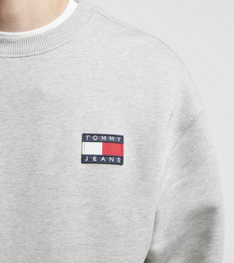 Tommy Jeans Heavyweight Knit Badge Crew Sweatshirt