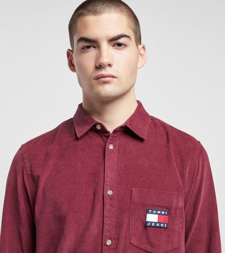 Tommy Jeans Corduroy Long Sleeve Shirt