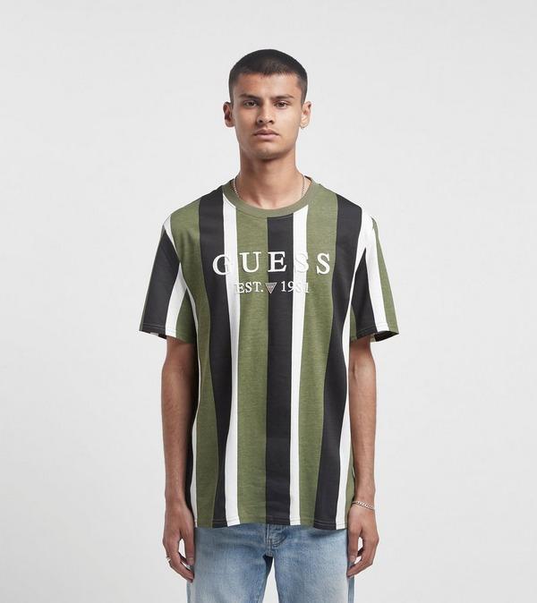 Guess Vertical Striped T-Shirt
