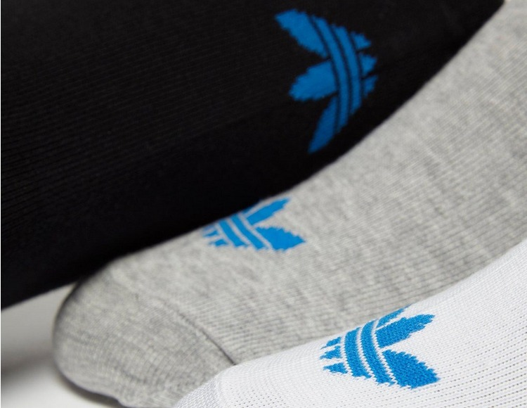 adidas 3-Pack Trefoil Liner Socks