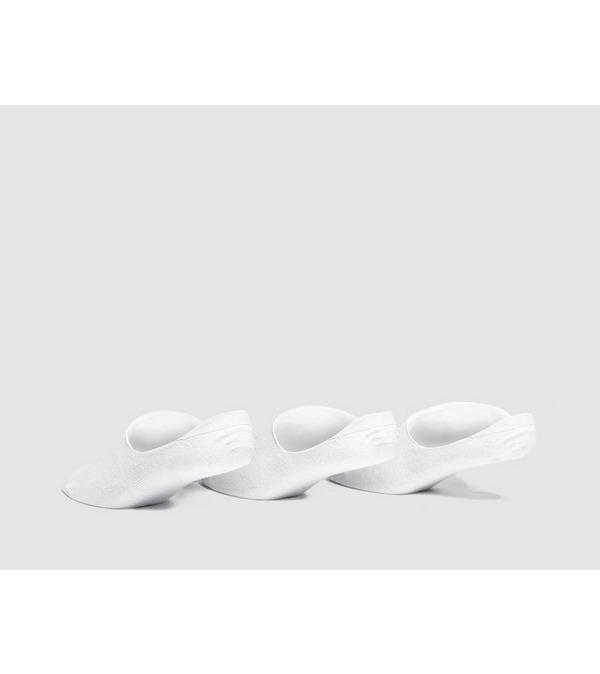 size? Essentials 3 Pack 'No Show' Sokken