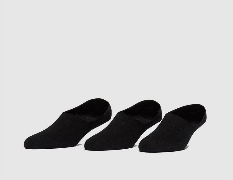 size? 3er Pack 'No Show' Socken