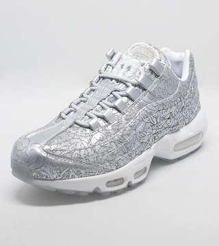 Nike Air Max 95 Anniversary Qs Printing Silver White Black
