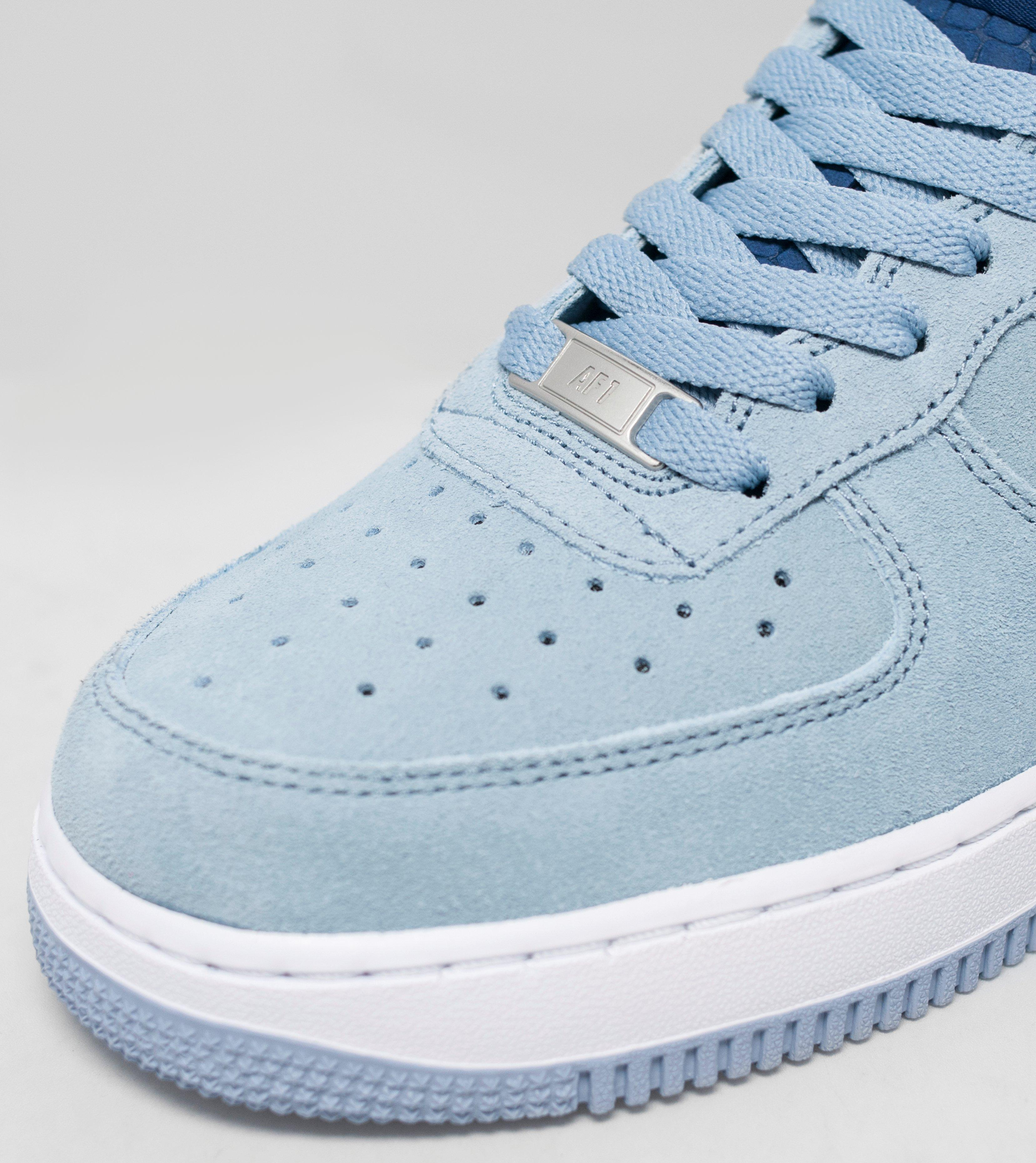 nike air force 1 suede blue womens