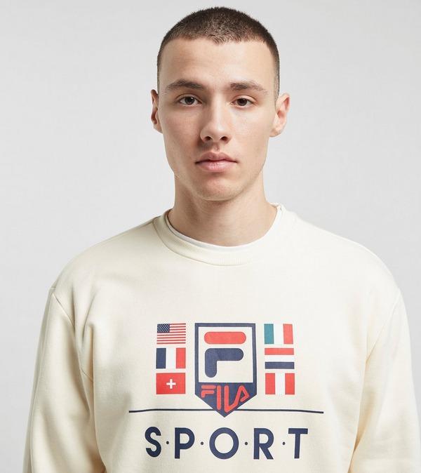 Fila Yvan Flag Sweatshirt