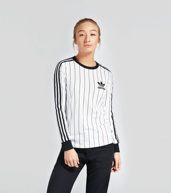 478b896b adidas Originals 3 Stripe Long Sleeve T-Shirt Women's | Size?