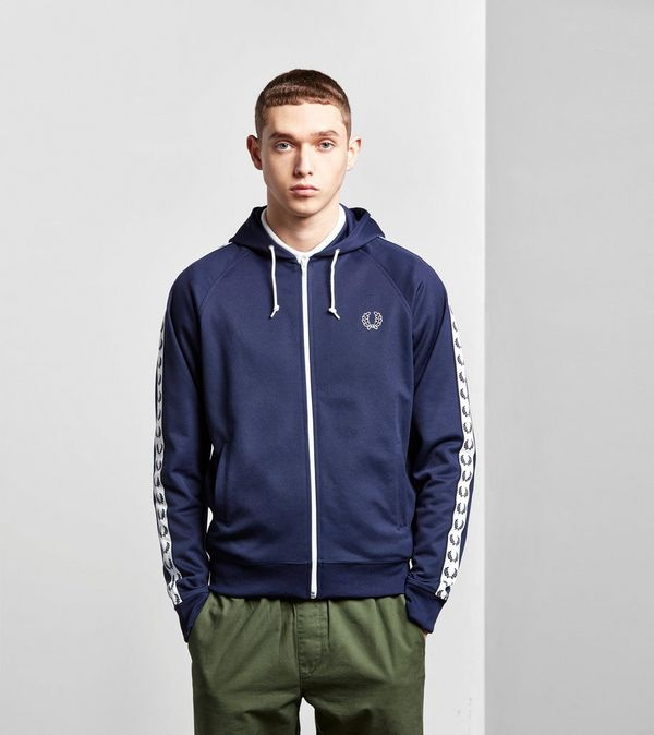 0c600f7186e Fred Perry Tape Hoody | Size?