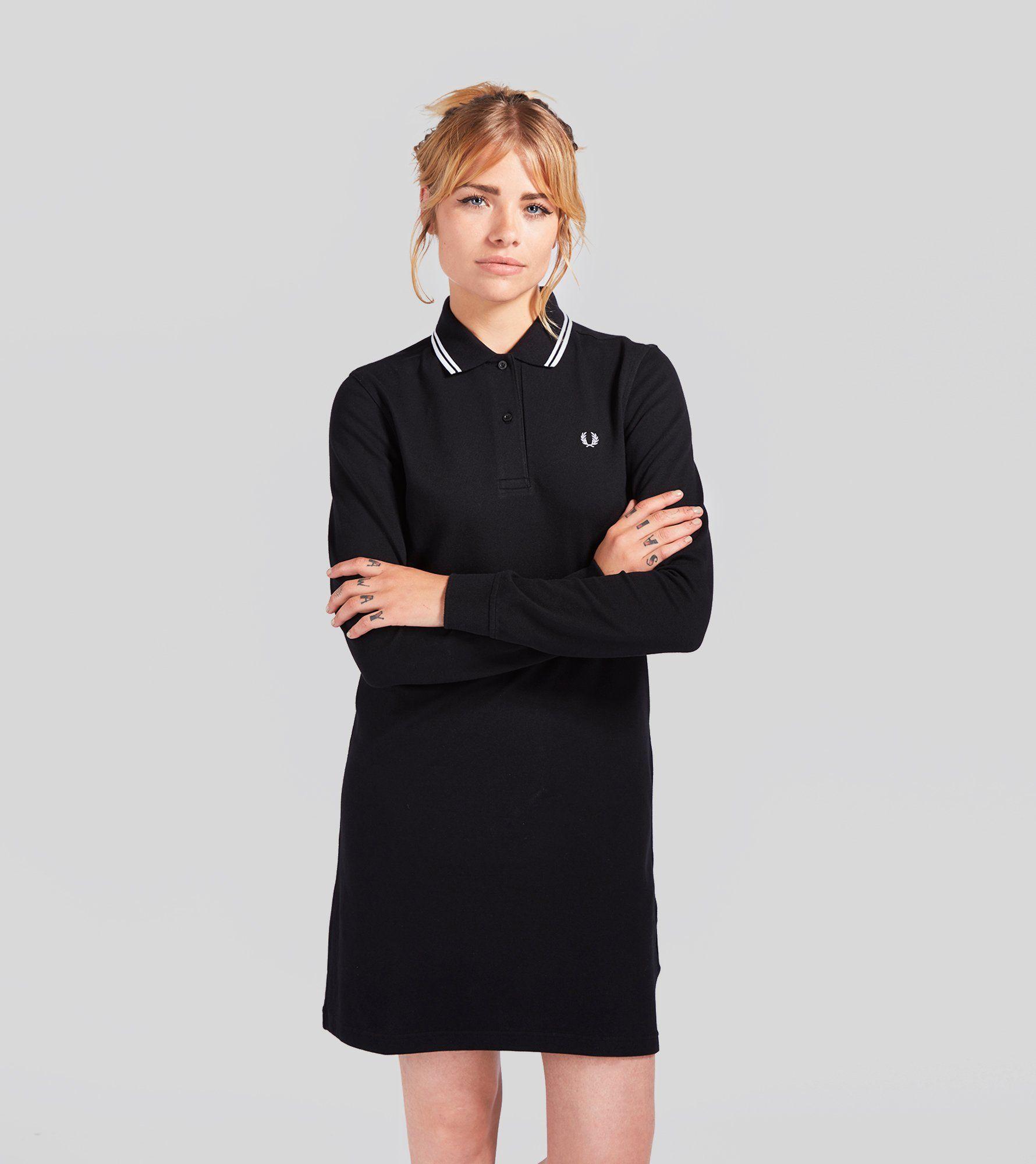c5363694a8e2 Womens Long Sleeved Black Dress - raveitsafe