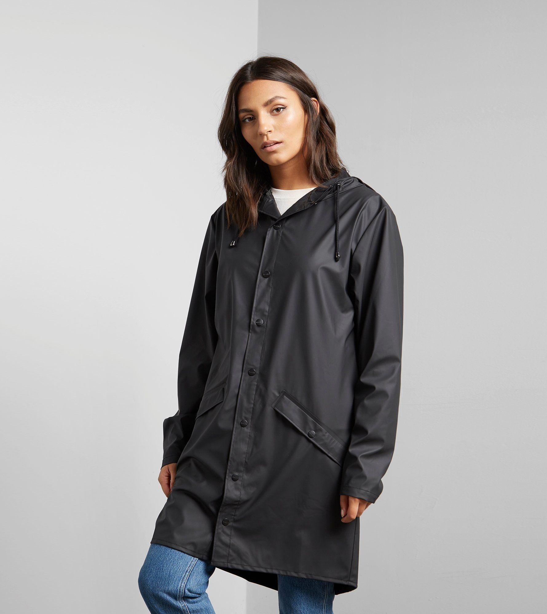 980878a1c RAINS Long Jacket | Size?