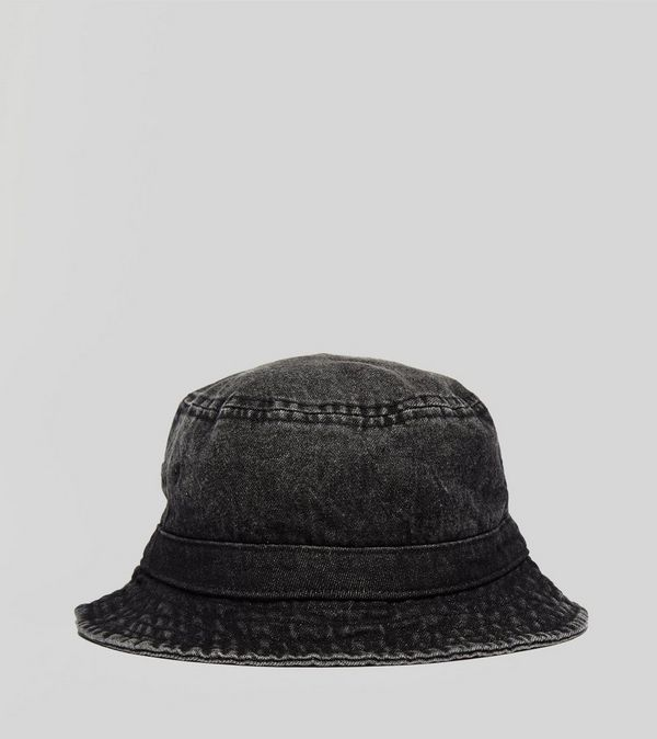 f8cf01f5adc61 Stussy Washed Denim Bucket Hat