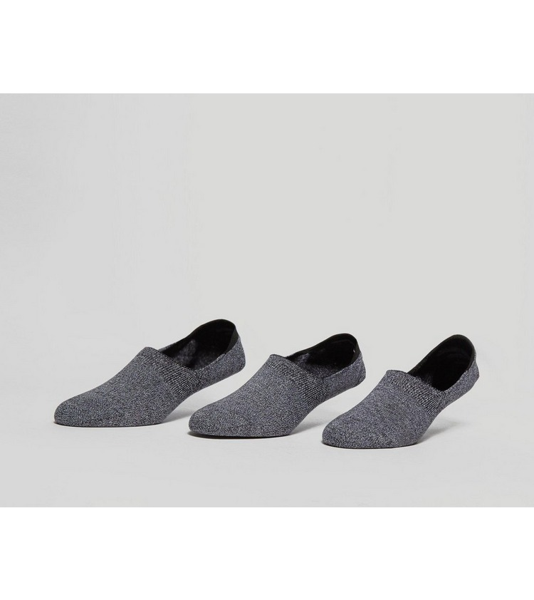 size? Essentials 3 Pack 'No Show' Socks