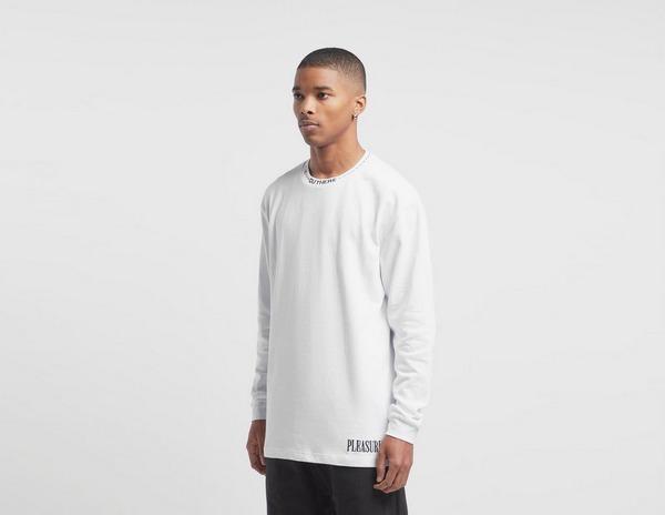 PLEASURES Cut Here Long Sleeve T-Shirt