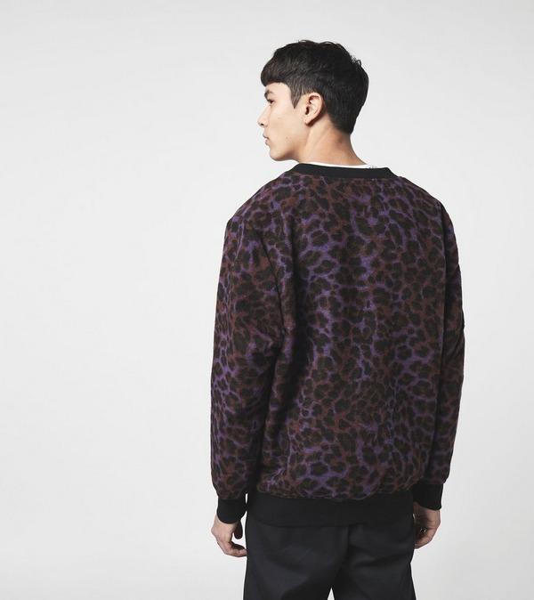 PLEASURES Mohair Leopard Cardigan