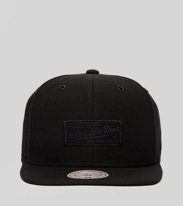 top fashion c4faf 66047 Mitchell   Ness Suede Box Logo Snapback Cap - size  Exclusive