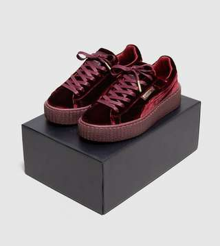 competitive price 9abcd c6f07 PUMA Fenty Creeper Velvet Women's | Size?