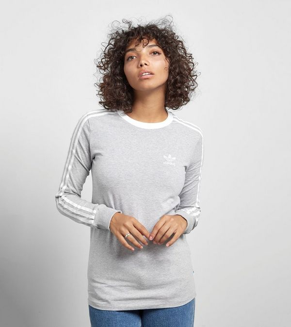 277707c1c08 adidas Originals 3 Stripe Long-Sleeved T-Shirt | Size?