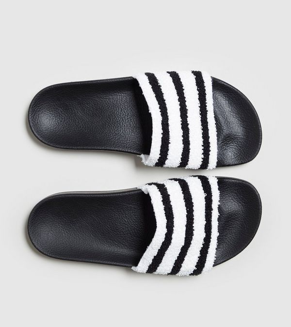 pretty nice 906d7 e3a5c adidas Originals Adilette Towelling Slides