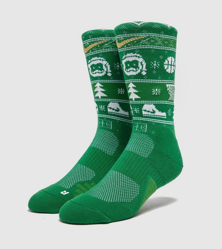 Nike Swoosh Xmas Sock