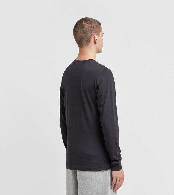 Nike Long Sleeve Chest Logo Heritage Tee