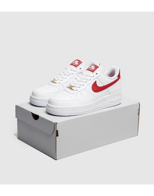 air force 1 swoosh rouge