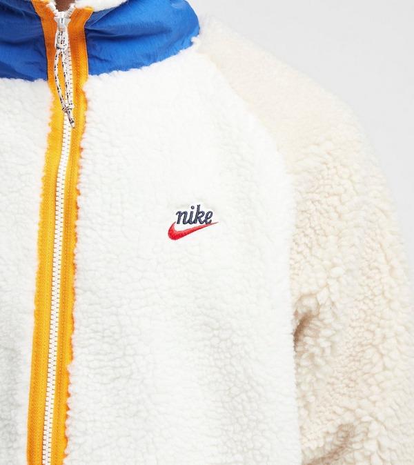 Nike Heritage Sherpa Fleece Jacket | Size?