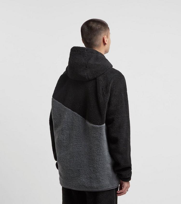 Nike Sherpa Swoosh Fleece Hoodie