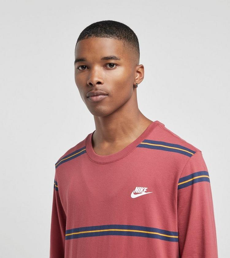 Nike Futura Stripe Long Sleeve T-Shirt