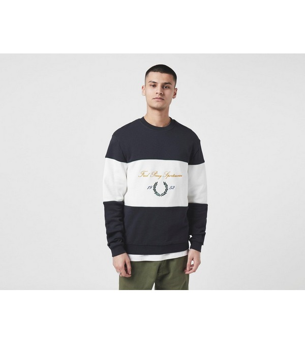 Fred Perry Script Crew Sweatshirt - Size Exclusive?