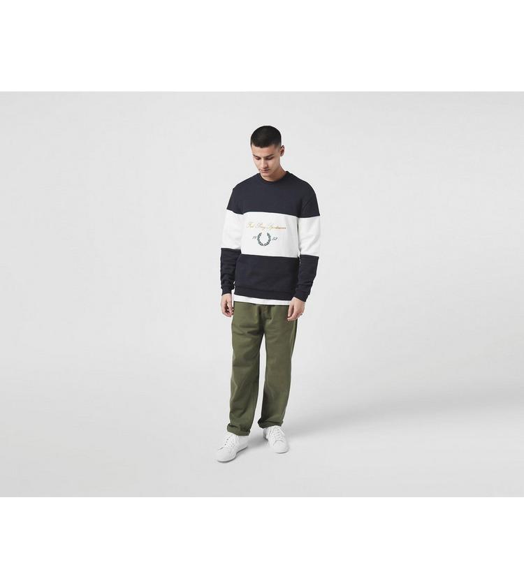 Fred Perry Script Crew Sweatshirt - Size Exclusive?