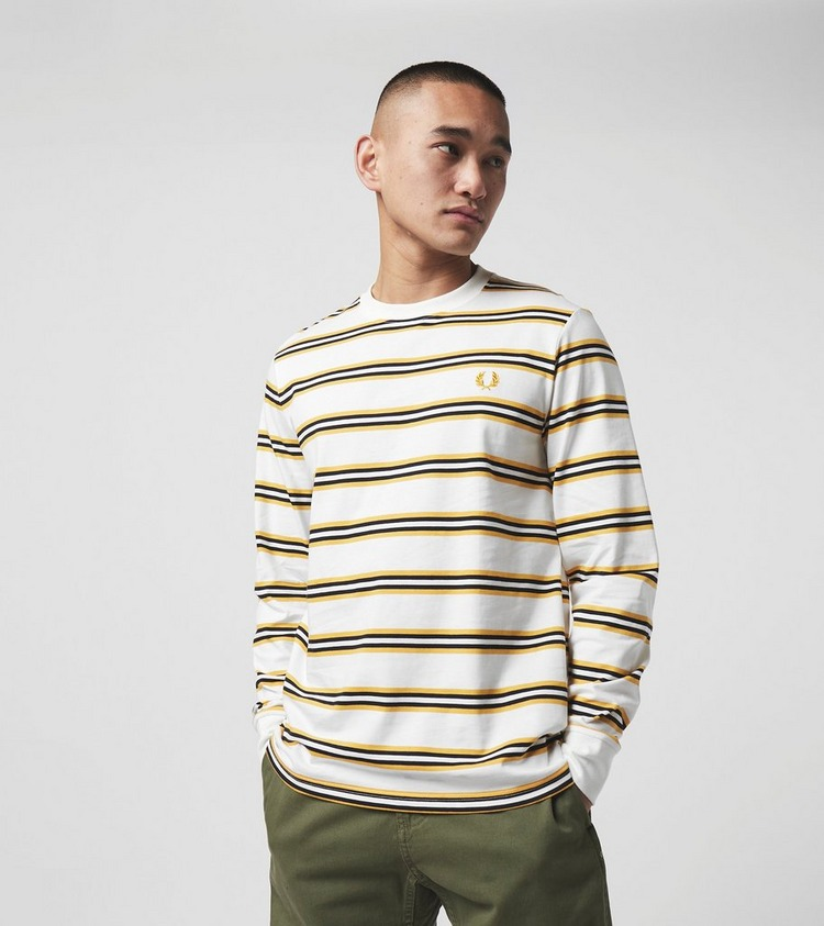 Fred Perry Stripe Long Sleeve T-Shirt - size? Exclusive