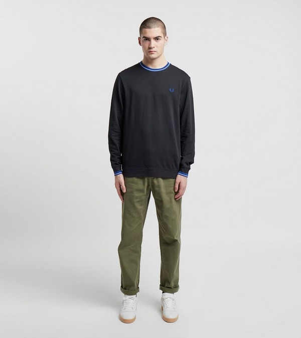 Fred Perry Tipped Neck Sweatshirt