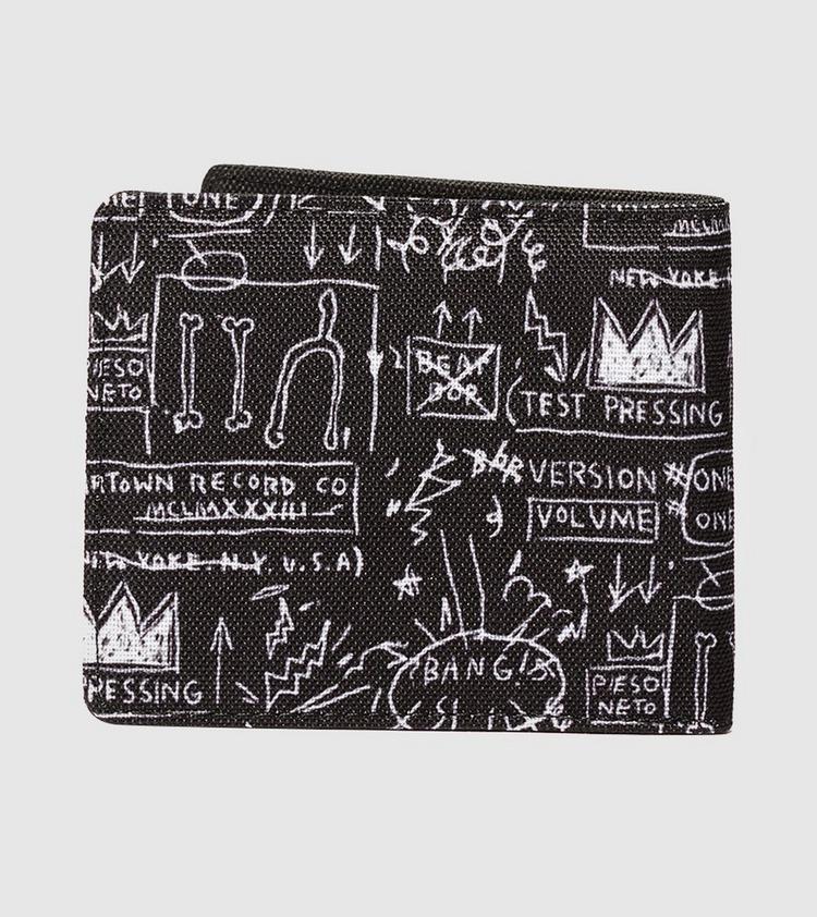 Herschel Supply Co x Jean-Michel Basquiat Roy Wallet