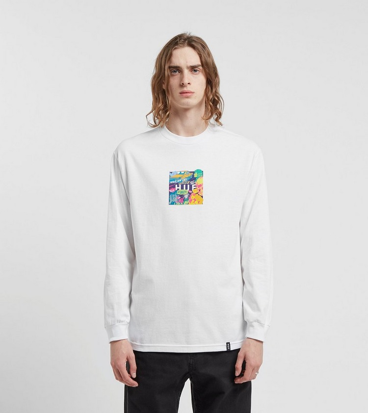 HUF Comis Box Logo Long Sleeve T-Shirt