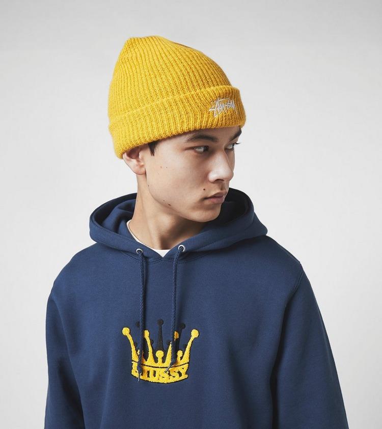 Stussy Chenille Crown Applique Hoodie