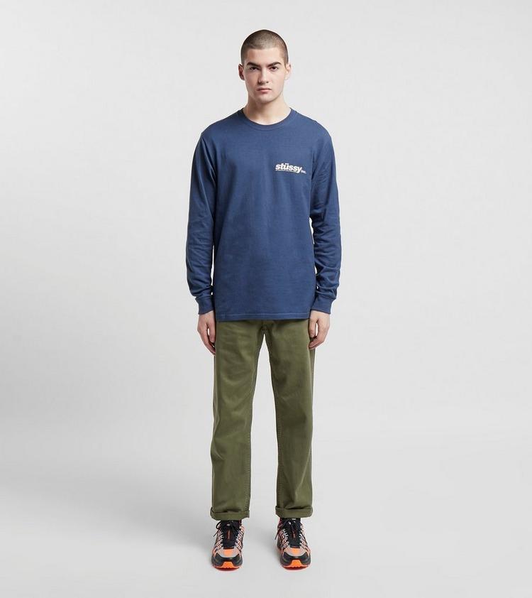 Stussy Italic Long Sleeve T-Shirt