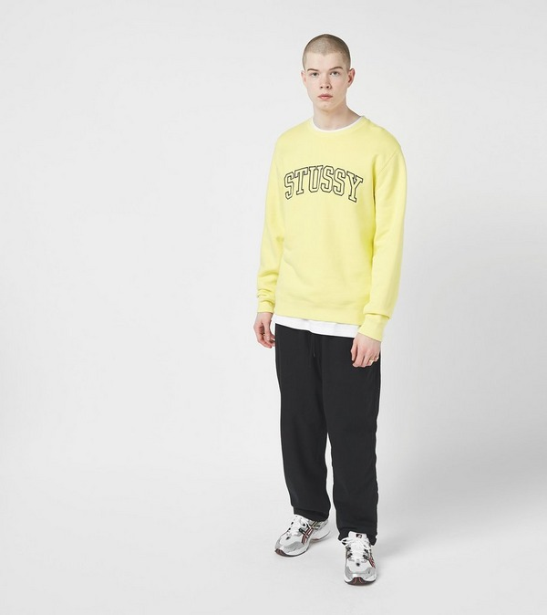 Stussy Outline Applique Crewneck Sweatshirt
