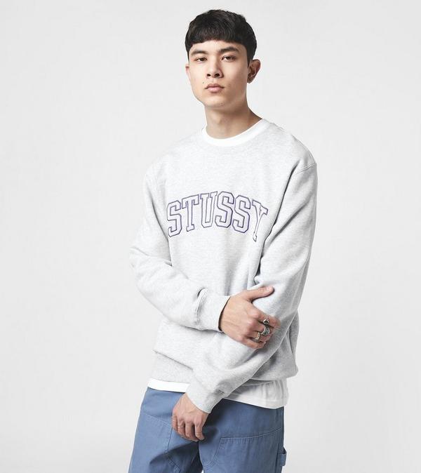 Stussy Outline Applique Sweatshirt