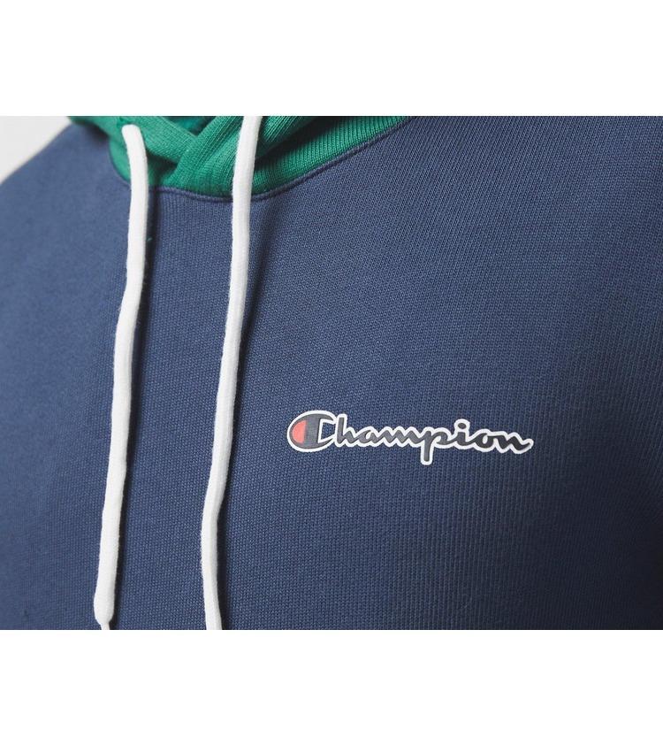 Champion Contrast Colour Block Sleeve Hoodie
