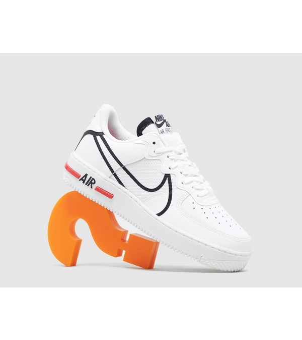 air force 1 react homme blanc